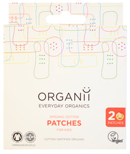 Organii eco-friendly plasters pack of 20 kids