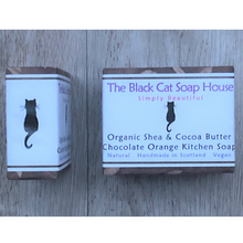 Load image into Gallery viewer, Eco-friendly Black Cat Soap House Soap bar Kitchen soap