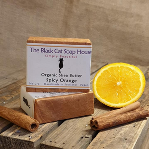 Eco-friendly Black Cat Soap House Soap bar Spicy orange