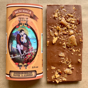 Toffee Almond Crumble Milk Chocolate Bar