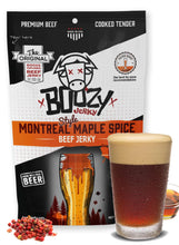 Load image into Gallery viewer, Montreal Maple Spice Lager Beef Jerky