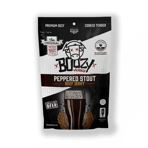 Peppered Stout Beef Jerky