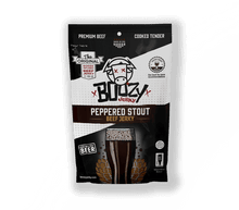 Load image into Gallery viewer, Peppered Stout Beef Jerky