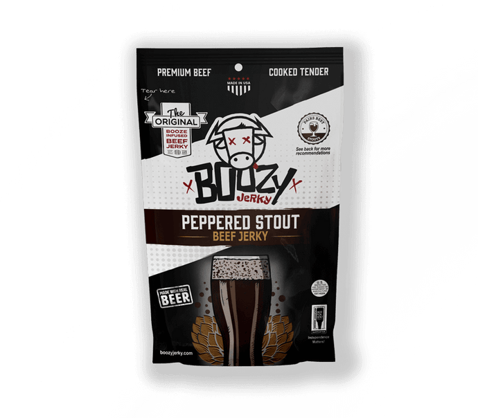 Peppered Stout - Boozy Jerky