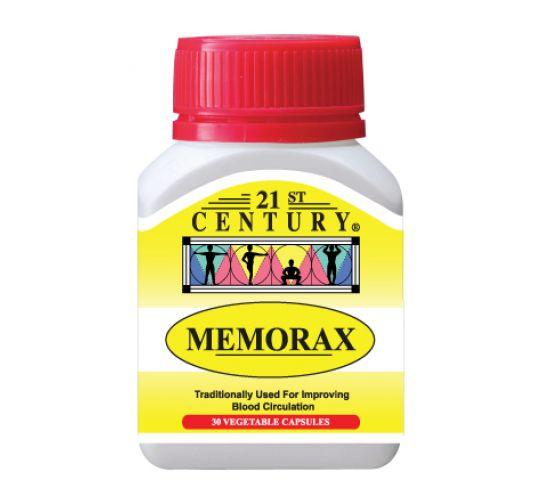 21St Century Memorax 30 Capsules Healthcare & Supplements