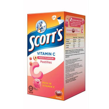 Scotts Vitamin C Peach 50S