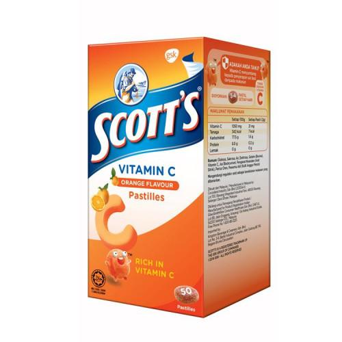 Scott's Vitamin C Orange 30s / 50s