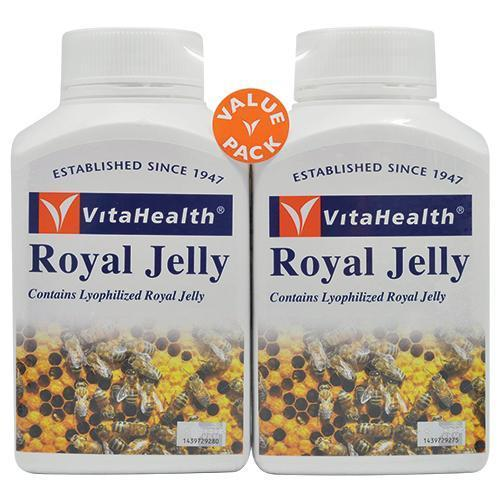 Vitahealth Royal Jelly 133.4Mg 2 X 120 Softgels