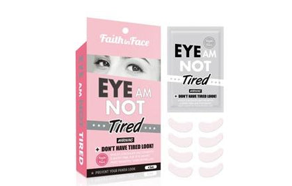 Faith In Face Eye Am Not Tired Hydrogel Mask Care