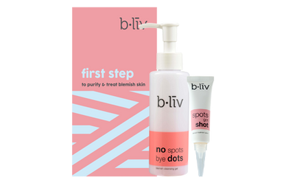 B.liv First Step - To Purity & Treat Blemish Skin Care Set