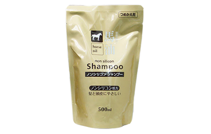 Kumano Yushi Horse Oil Shampoo 500Ml & Conditioner