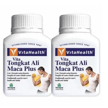 Vitahealth Tongkat Ali Maca Plus 2 X 60 Capsules Healthcare & Supplements
