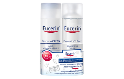 Eucerin Dermato Clean Milk & Toner Set Skin Care