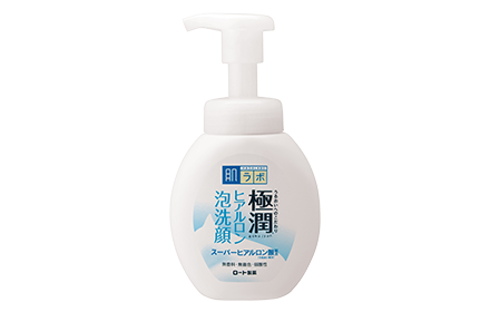 Hada Labo Super Hyaluronic Acid Hydrating Foaming Wash 160Ml Cleanse