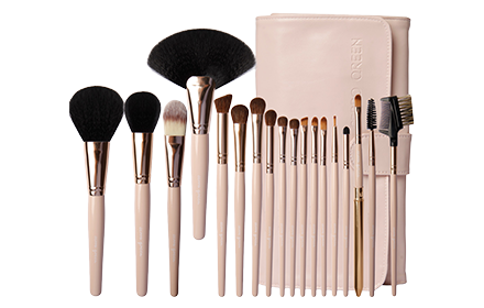 Cerro Qreen Professional Makeup Brush Set - 18Pcs Beauty Tools