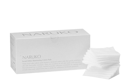 Naruko Facial White Illuminating Cotton Pads Cleanse