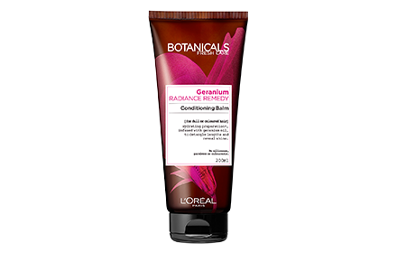 Botanicals By Loreal Paris Geranium Radiance Remedy Conditioning Balm 200Ml Shampoo & Conditioner