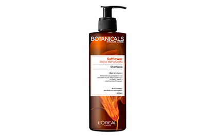 Botanicals By Loreal Paris Safflower Rich Infusion Shampoo 400Ml & Conditioner
