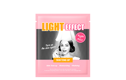Faith In Face Light Effect Hydrogel Mask 1Pcs