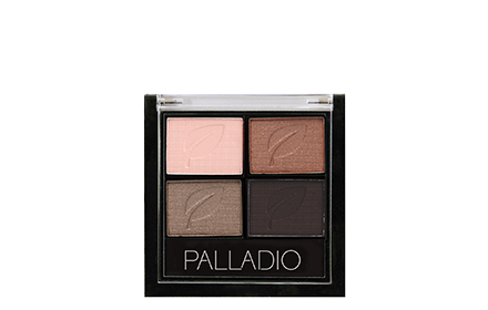 Palladio Herbal Eyeshadow Quad 5G Tantalizing Taupe Exp Mar19 Eyes