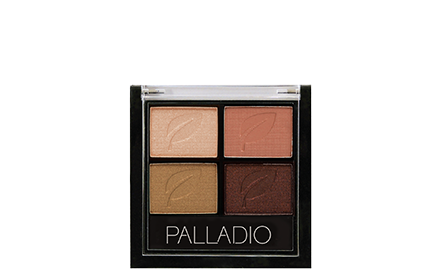 Palladio Herbal Eyeshadow Quad 5G Copper N Chicexp Dec20 Eyes