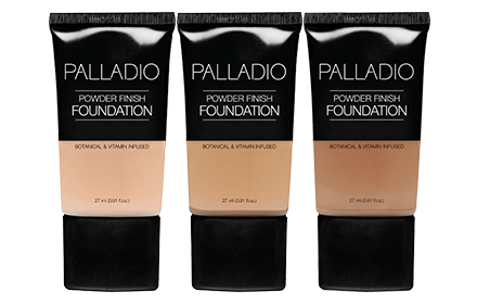Palladio Herbal Liquid Foundation Tube 27Ml Face