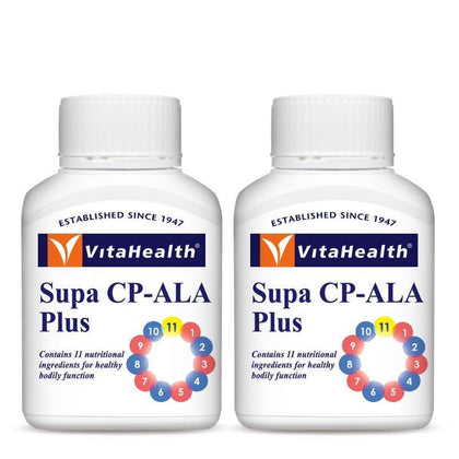 Vitahealth Supa Cp-Ala Plus 2 X 60 Tablets