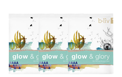 B.liv Glow And Glory 3Pcs Face Mask