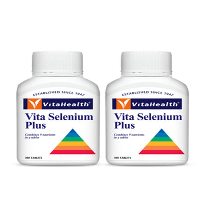 Vitahealth Vita Selenium Plus 2 X 100 Capsules Healthcare & Supplements