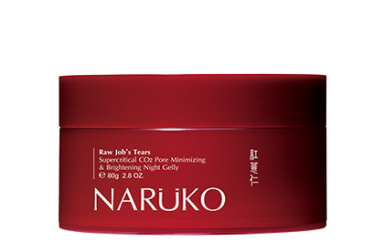 Naruko Raw Jobs Tears Supercritical Co2 Pore Minimizing & Brightening Night Gelly 80G Face Mask
