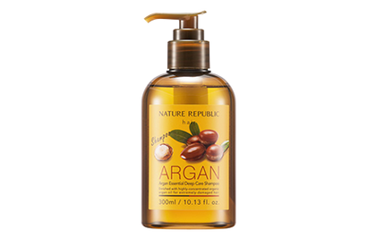 Nature Republic Argan Essential Deep Care Shampoo 300Ml & Conditioner