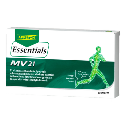 Appeton Essentials Mv 21 30 Caplets Healthcare & Supplements