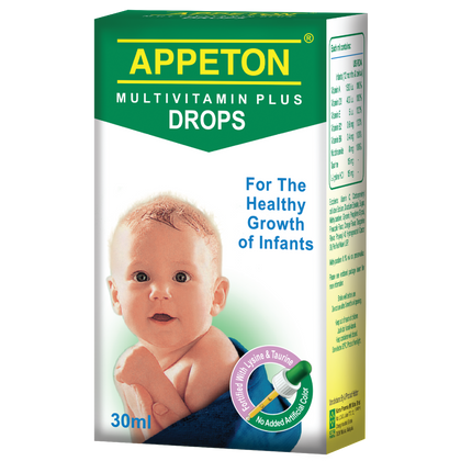 Appeton Multivitamin Plus Drops 30Ml Healthcare & Supplements