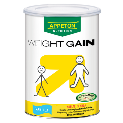 Appeton Nutrition Weight Gain Vanilla (Adult) 450Gm / 900Gm Management