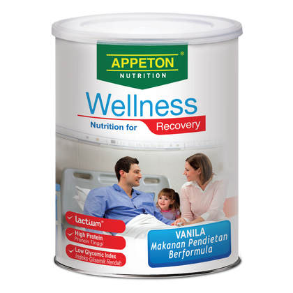Appeton Nutrition Wellness Recovery Vanilla 450Gm / 900Gm
