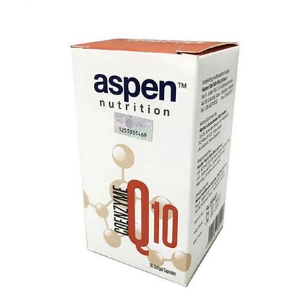 Aspen Nutrition Coenzyme Q10 50mg 30 / 4 x 30 Softgel Capsules