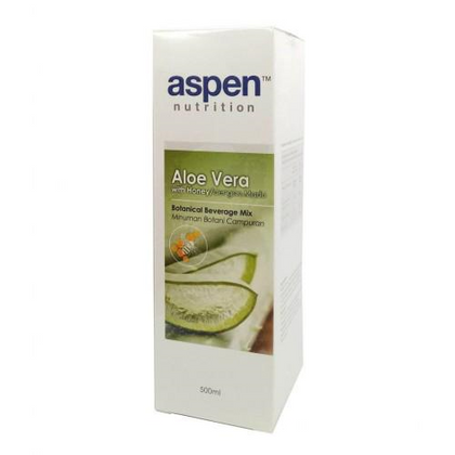Aspen Nutrition Aloe Vera Botanical Beverage Mix Liquid 500ml