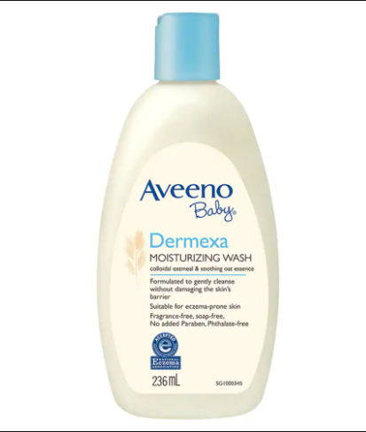 Aveeno Baby Dermexa Moisturizing Wash 236Ml Nourishing_Body_Wash