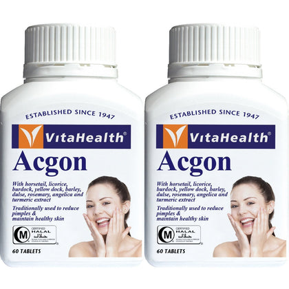 Vitahealth Acgon 682mg 2 x 60 Tablets