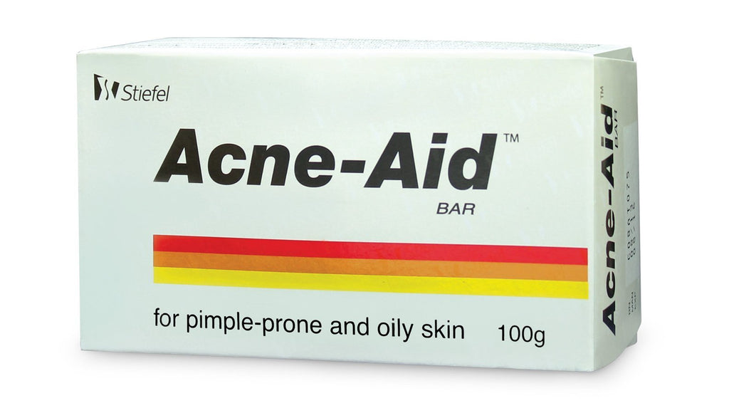Stiefel Acne-Aid Soap Bar 100g Single Pack