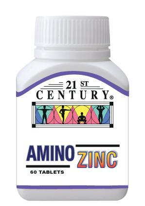 21St Century Amino Zinc 60 Tablets Healthcare & Supplements