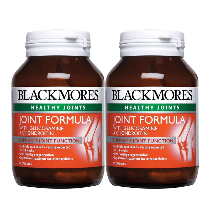 Blackmores Healthy Joints Joint Formula With Glucosamine Chondroitin 60 / 60 x 2 Capsules