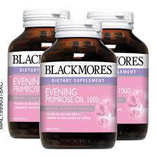 Blackmores Dietary Supplement Evening Primrose Oil 1000 60 / 100 / 100 x 3 Capsules