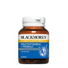 Blackmores Multivitamins + Minerals 30 / 120 Tablets 30S Healthcare & Supplements