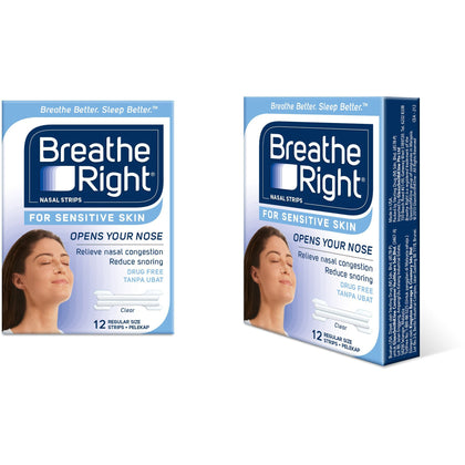 Breathe Right NS Sensitive 12s