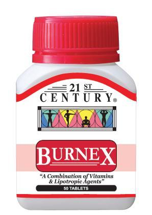 21St Century Burnex 50 Tablets Healthcare & Supplements