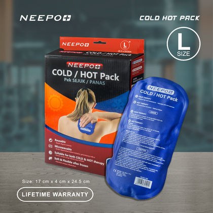 Neppo Plus Soft Cold Hot Pack L Size ( 4Cm X 17Cm 24.5Cm )