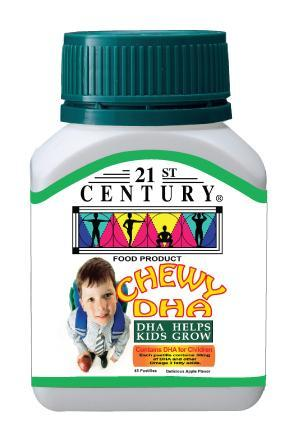 21St Century Chewy Dha 45 Pastilies Healthcare & Supplements