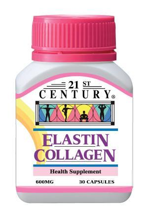 21St Century Elastin Collagen 600Mg 30 Capsules Healthcare & Supplements