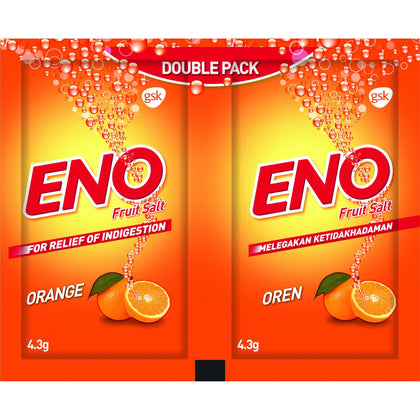 ENO Orange Effervescent 4.3g Twin Sachet
